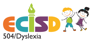 Logo for 504/Dyslexia Department