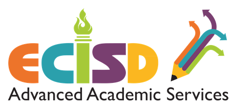 Color logo for ECISD Advanced Academic Services Department