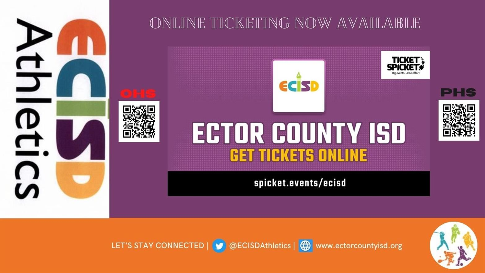 ECISD Athletic Sport Tickets