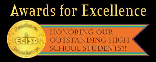 Color banner image for Awards for Excellence