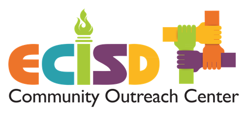 Color logo for ECISD Community Outreach Center