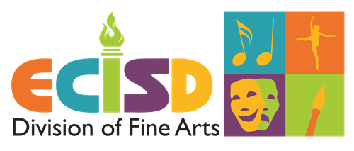 Color Logo for ECISD Fine Arts