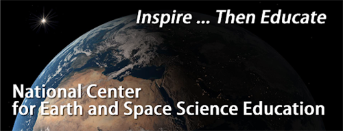 National Center for Earth and Space Science Education logo