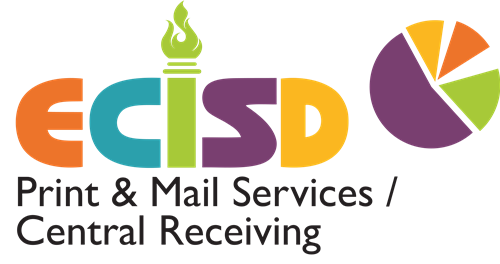 Color Logo for ECISD Print and Mail Services