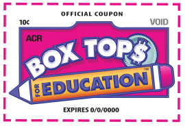 "Box Tops for Education  ""Hays Magnet Academy"""