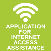Application to gain internet access from the District
