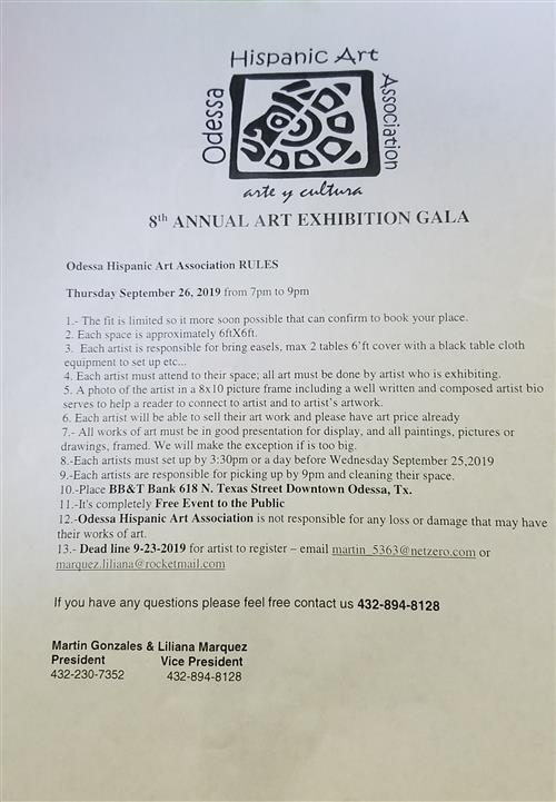 Hispanic Art Association